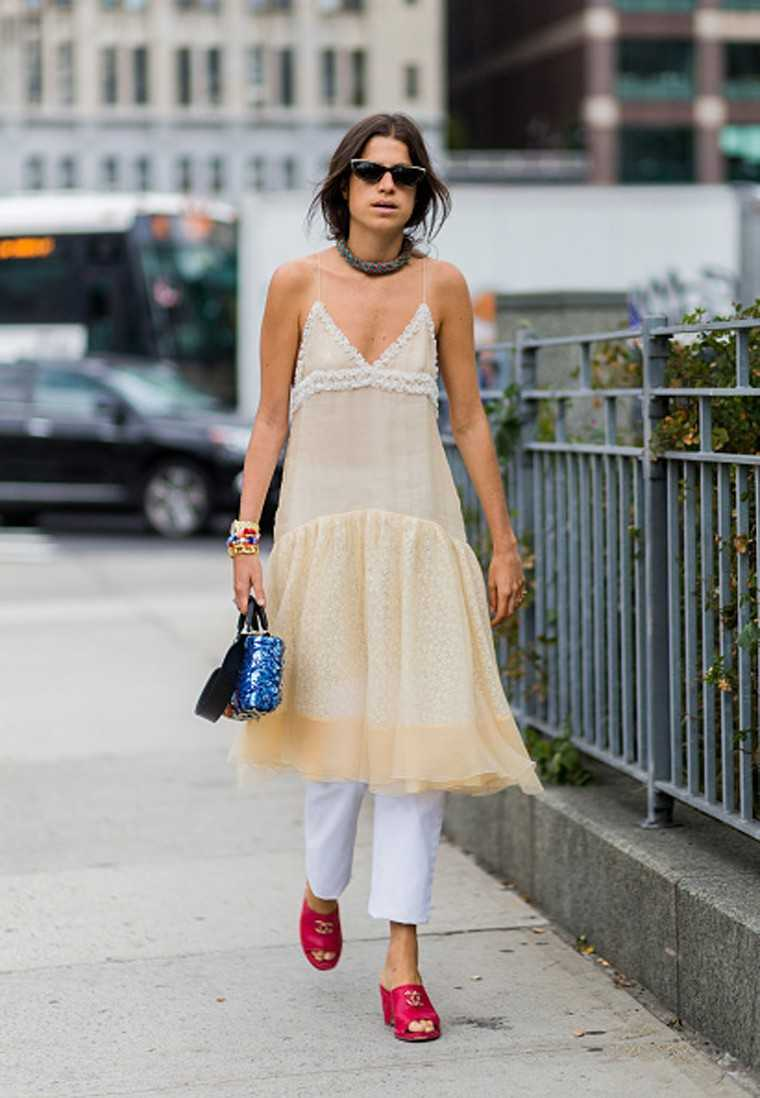 Leandra Medine - Founder of the blog Manrepeller.com