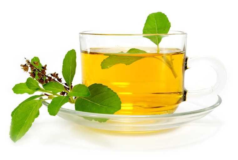Basil tea fight anxiety