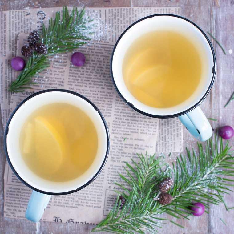 Ginger tea skin clear