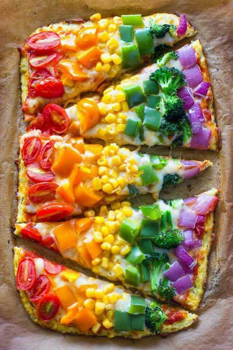 pinned foods of 2016 rainbow