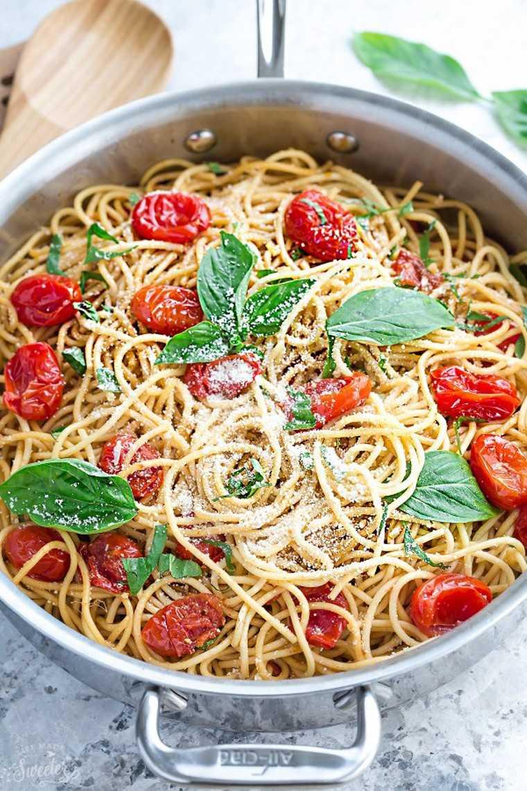 pinned foods Eggplant Spaghetti