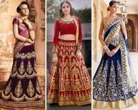 7 breathtakingly beautiful bridal lehengas