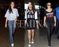Slogan tees are all the rage with Bollywood