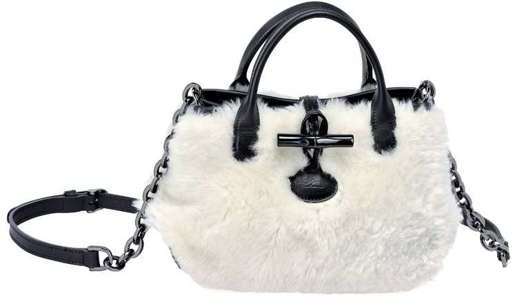 Fuzzy sling, price on request, Longchamp