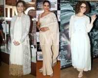 Sonam, Kangana and others in classic ivory and gold