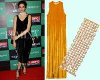 Wear velvet with pearls like Deepika Padukone