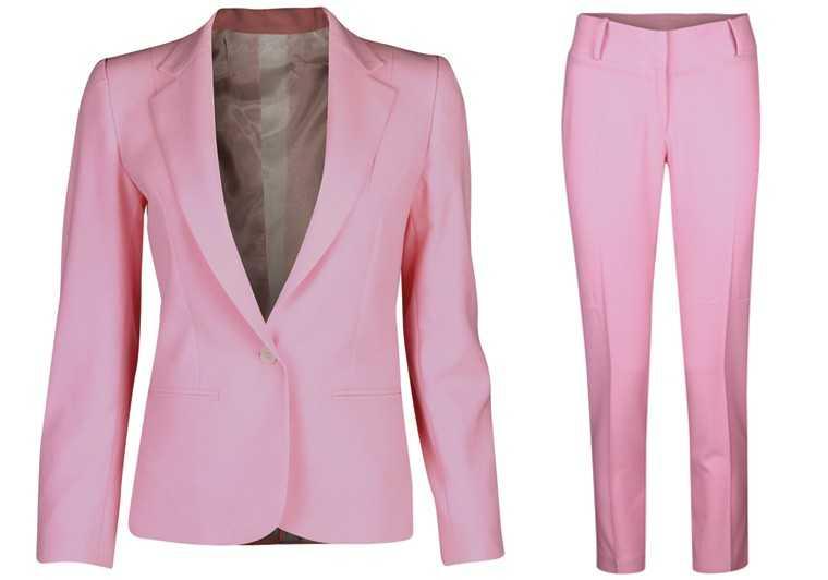 Viscose blend blazer and trousers, Van Heusen