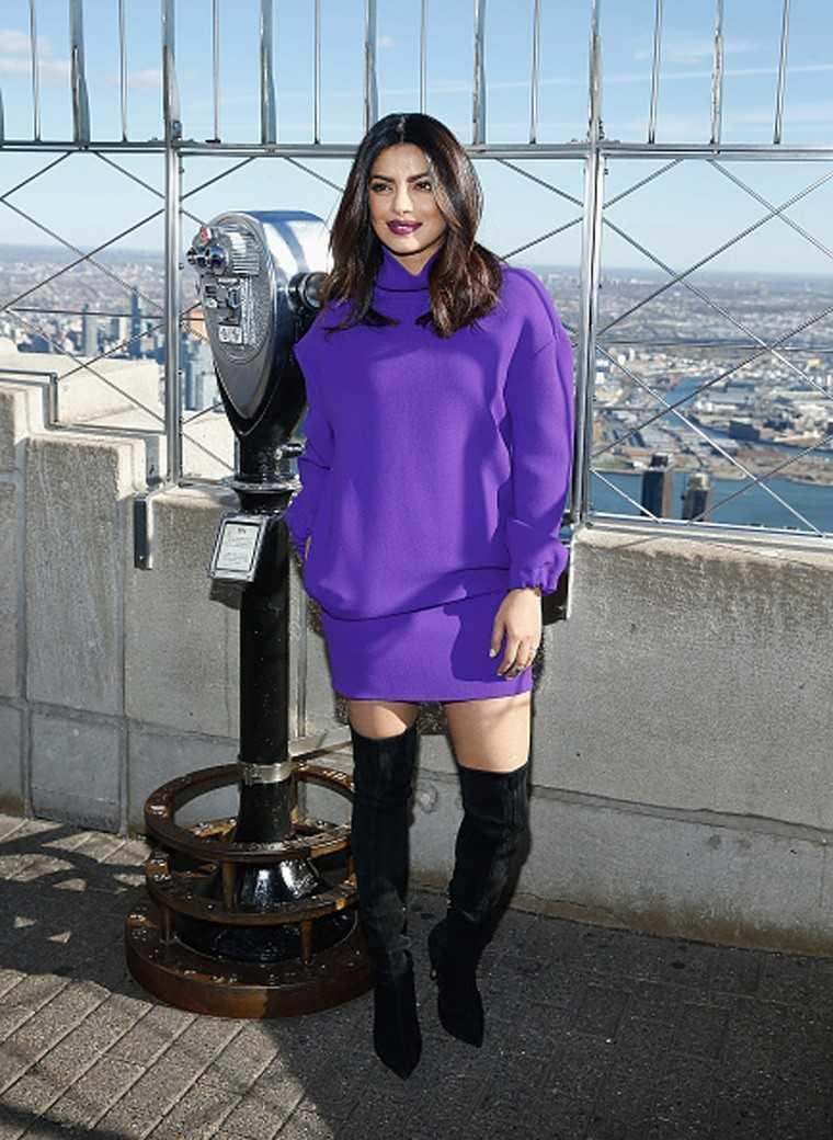 Priyanka Chopra in Thigh-high boots