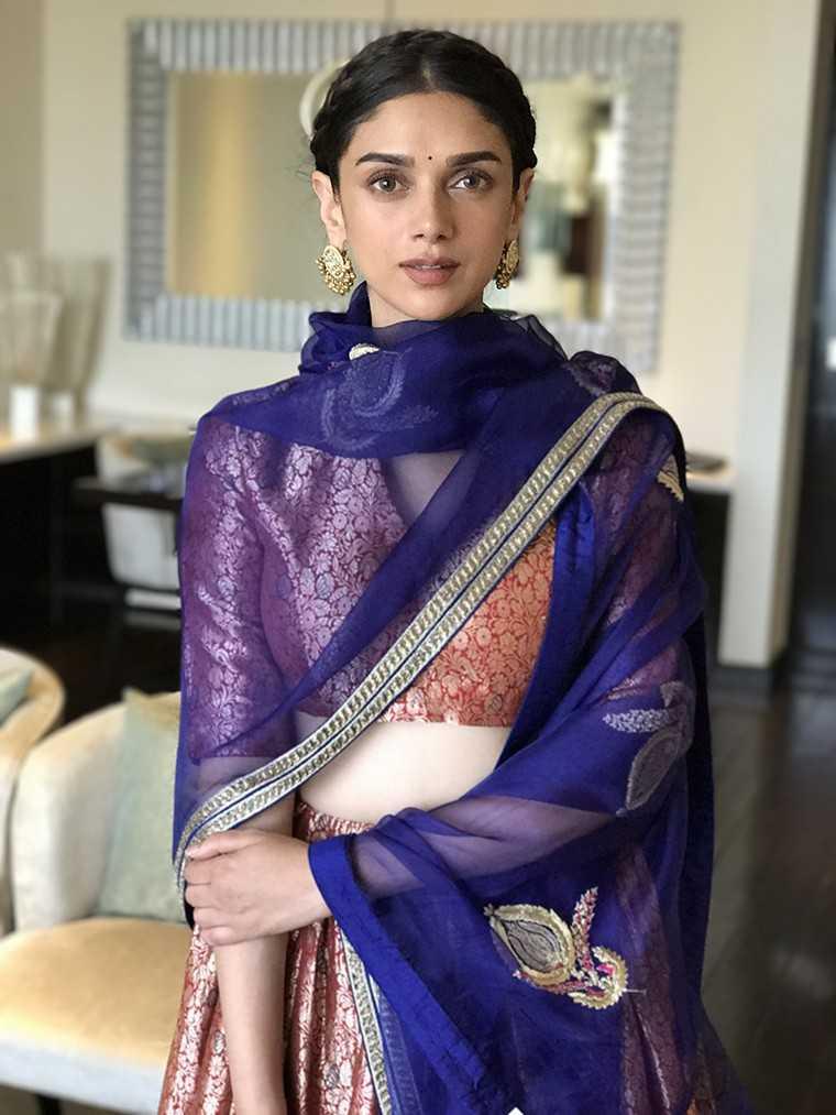 Aditi Rao Hydari Raw Mango outfit