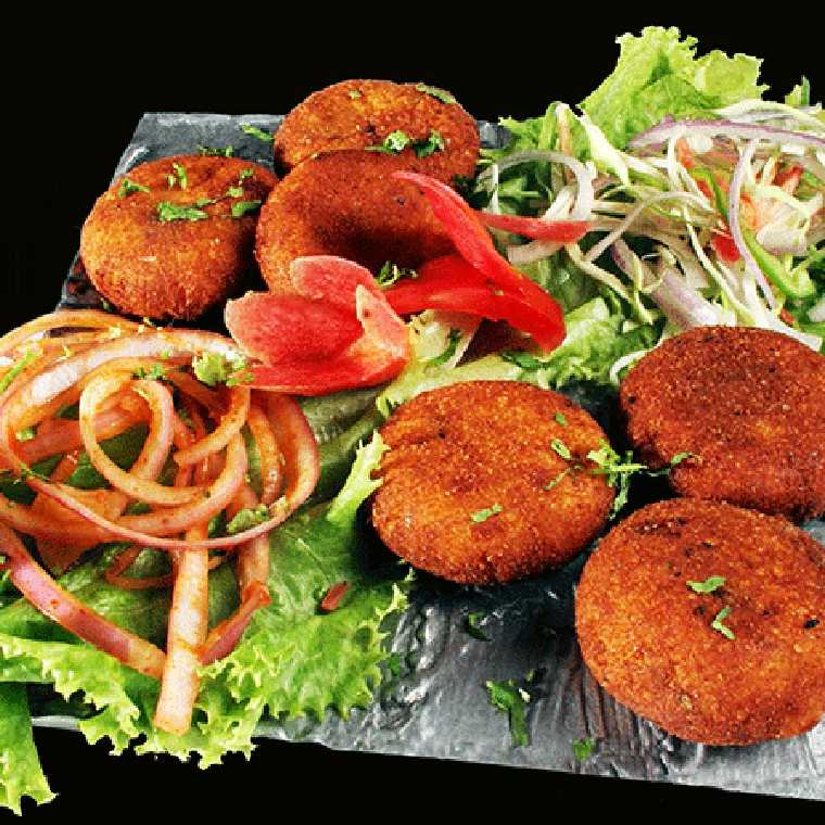 Aloo mutter tikki