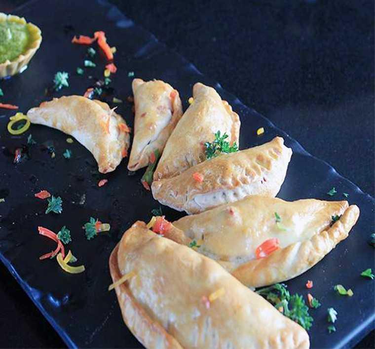 Baked savoury - Italian gujiya
