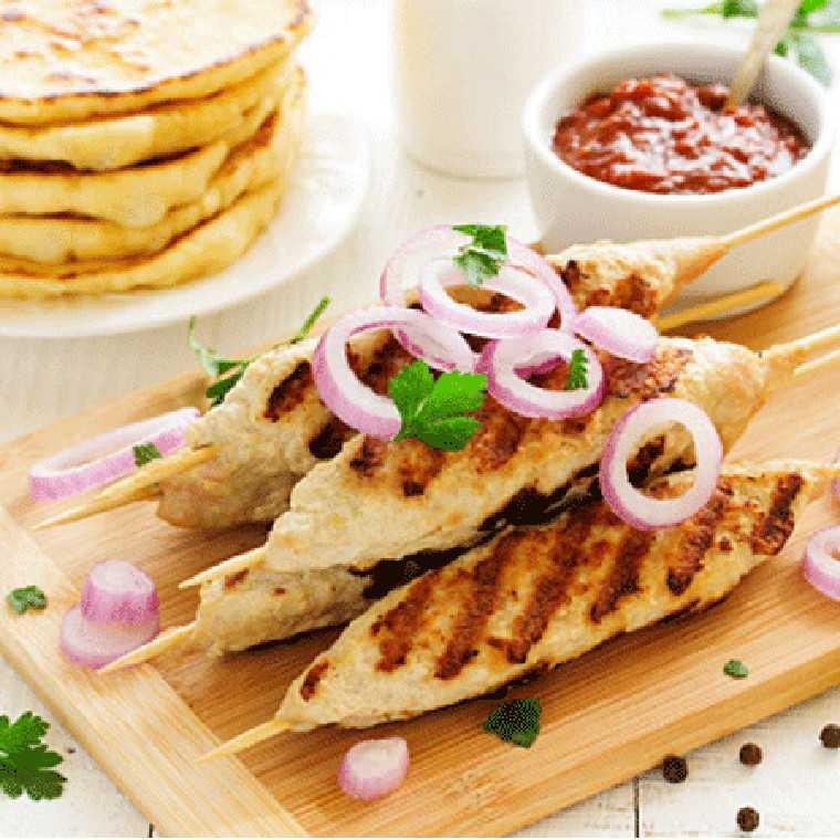 Dal seekh kebab