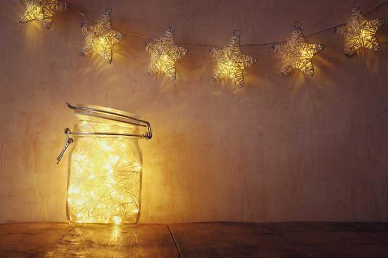 Lantern in a jar