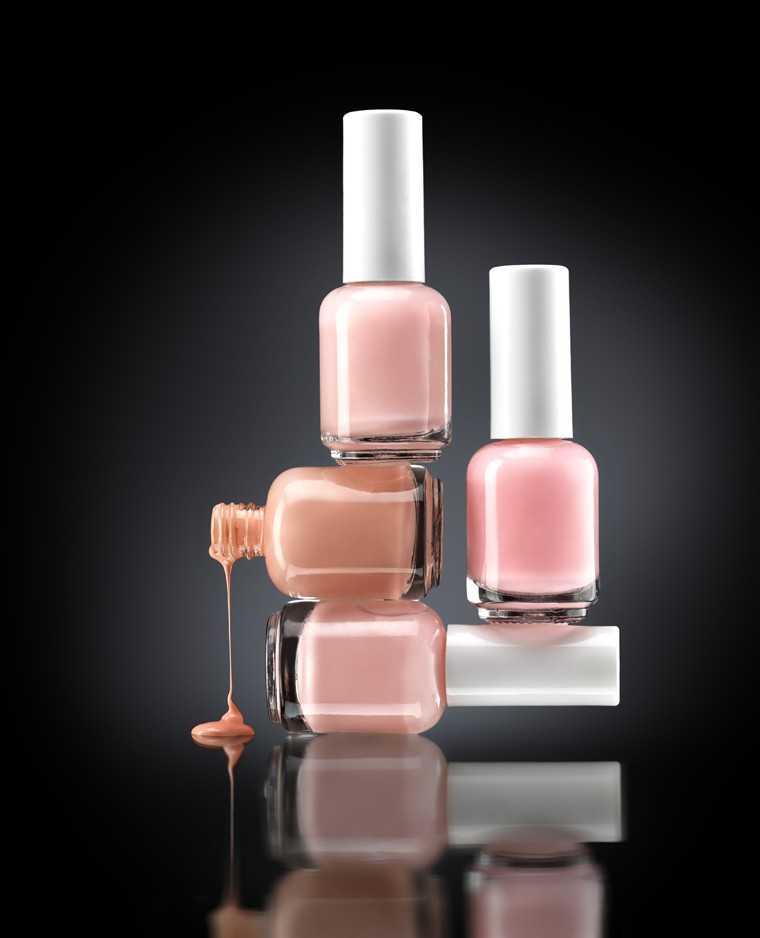 Pastel nail polish set