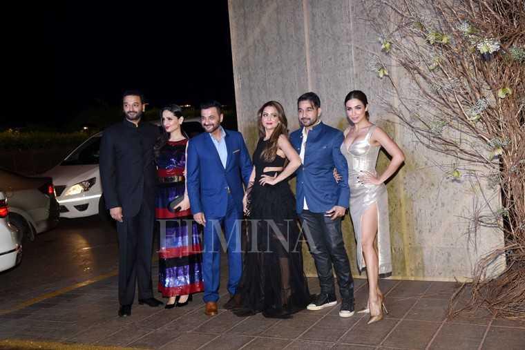 Sunny and Anu Dawan, Sanjay Kapoor, Amrita Arora and Shakeel Ladak and Malaika Arora