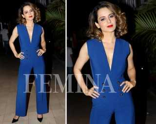 Kangana Ranaut shows us the lazy girl's guide to dressing