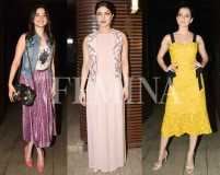 Summer chic at Priyanka Chopra's party