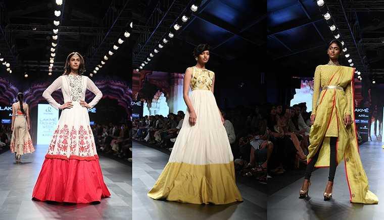 Divya Reddy Lakmé Fashion Week Summer/Resort 2017 Shahibzadi