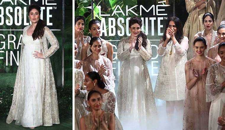 Kareena Kapoor Khan at Lamke Fashion Week