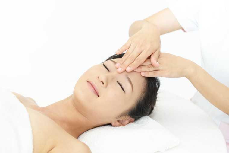 Massage stimulates hair follicles