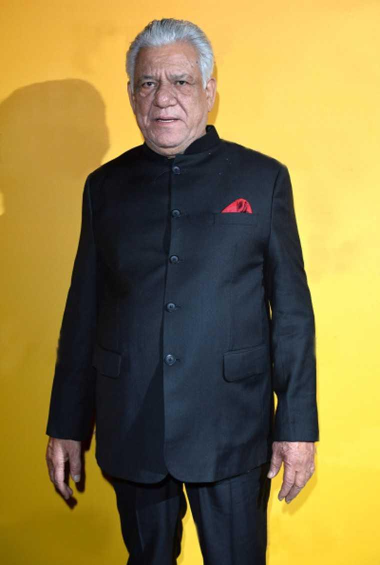 Om Puri is honoured
