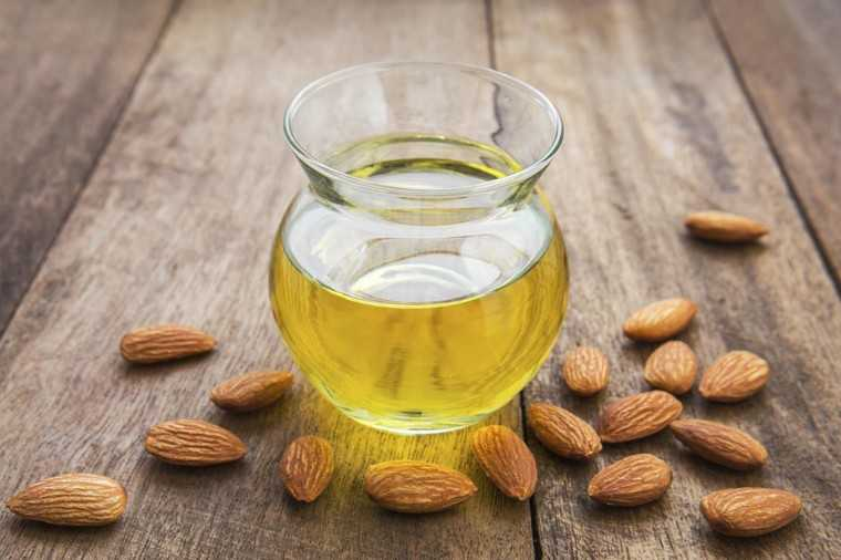 Almond oil and conditioner