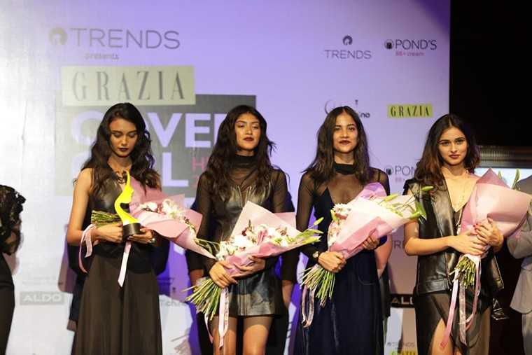 the ramp to win the coveted title of Grazia Cover Girl