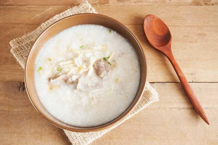Rice gruel aka congee