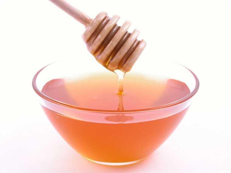honey and baking soda