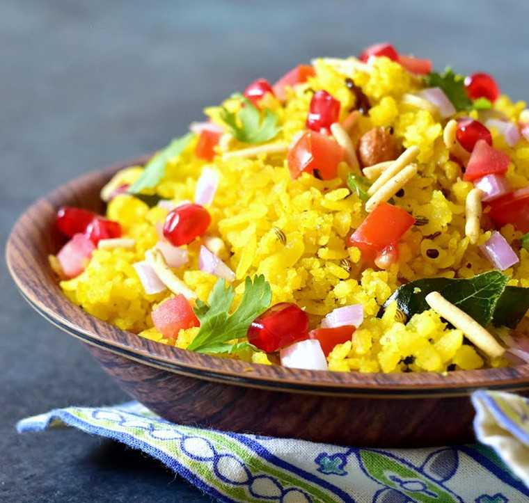 spicy poha