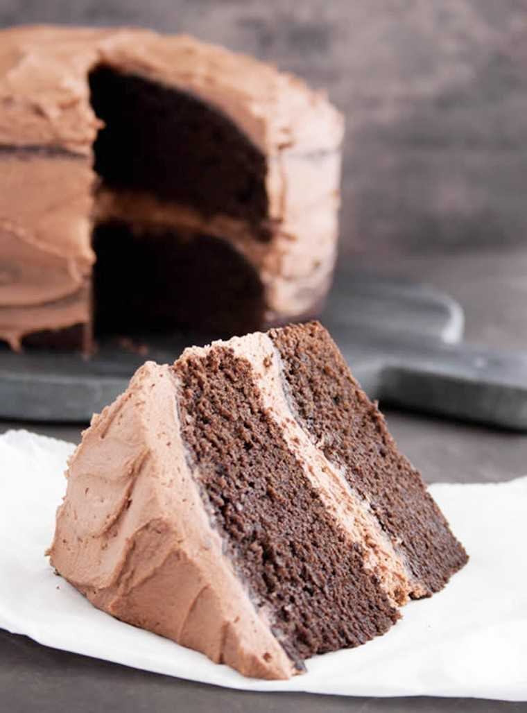 whipped chocolate frosting