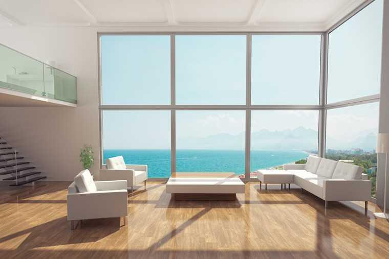 Nature inspires livingroom