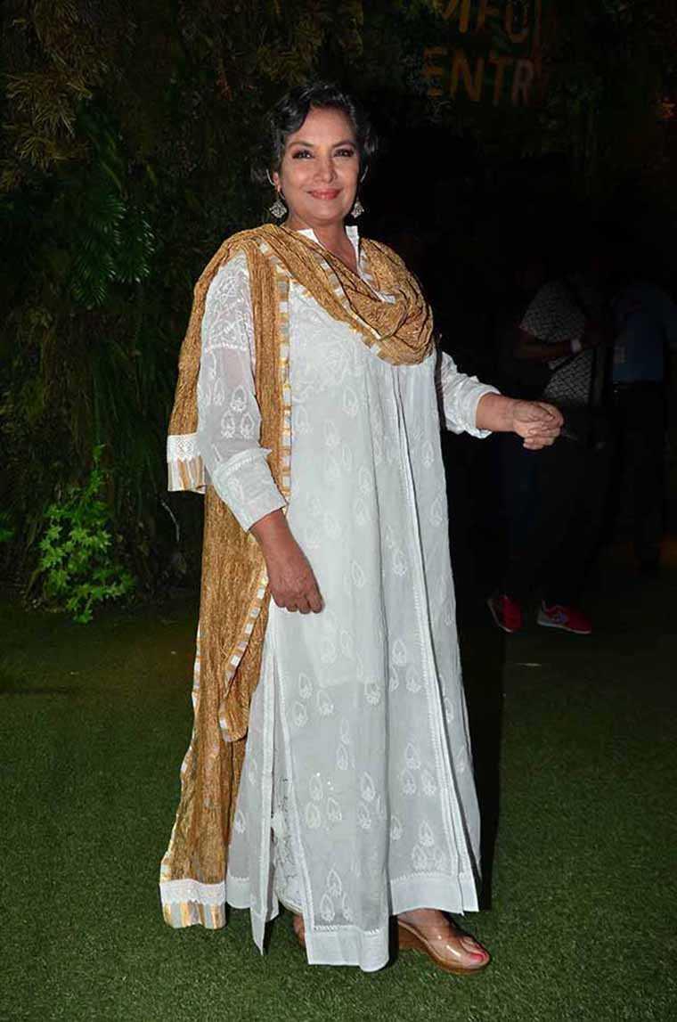 femina, Shabana Azmi