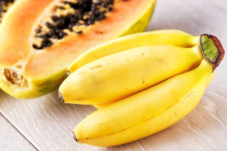 Papaya & banana face pack