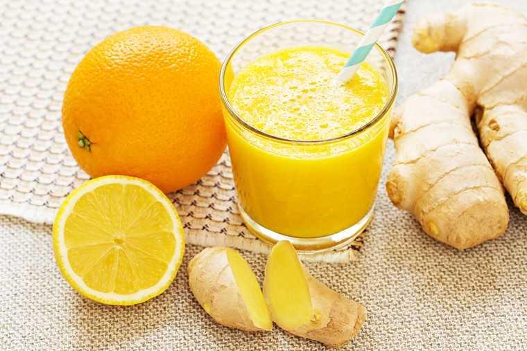 Ginger-lemon zinger