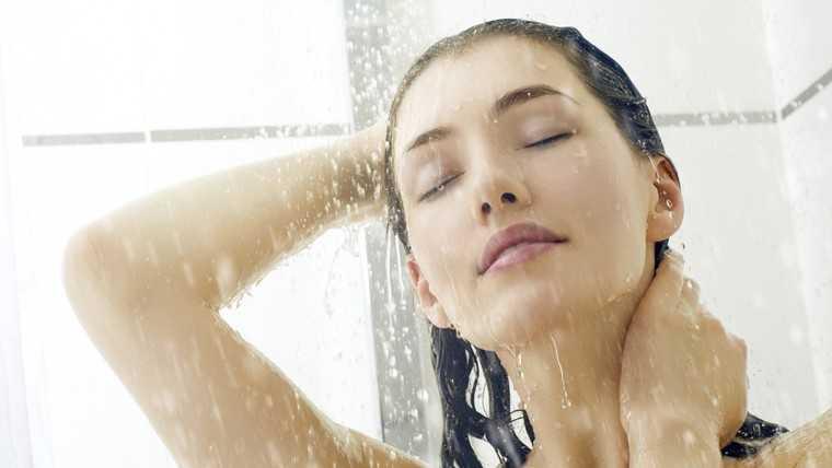 Moisturise in the shower