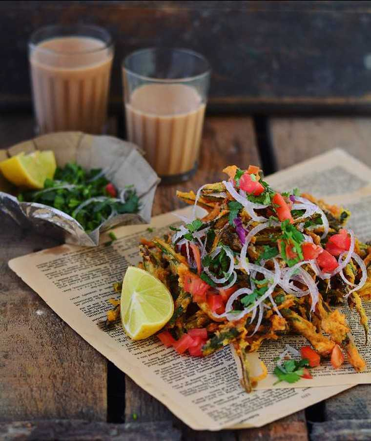 Bhindi chaat