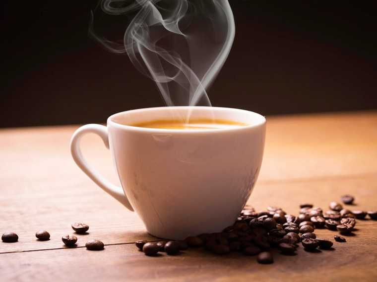 Go easy on the coffee