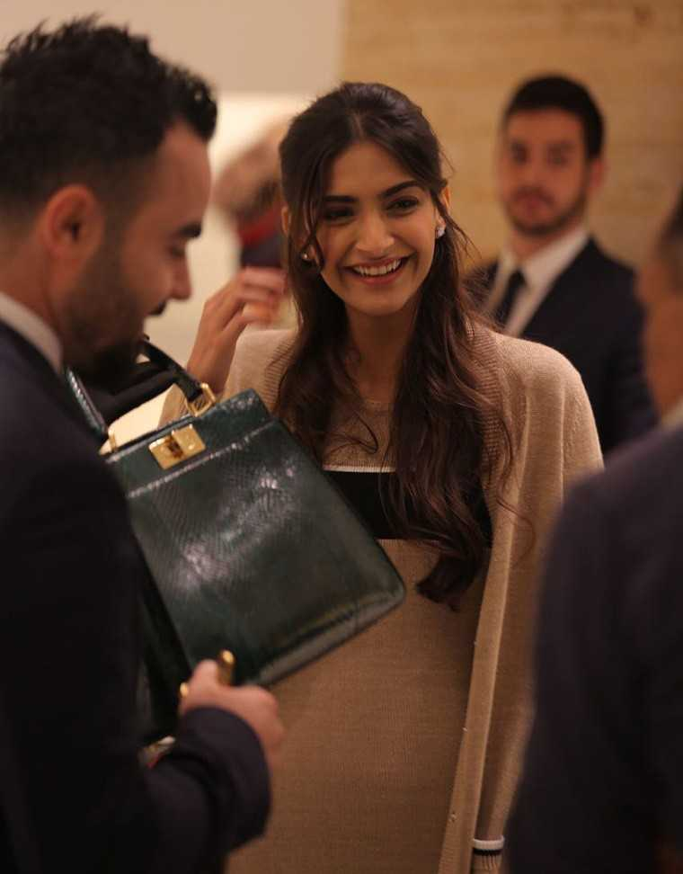 femina, Sonam Kapoor, Dubai