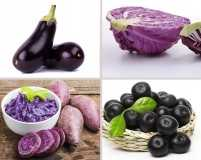 Purple on your plate, for good health