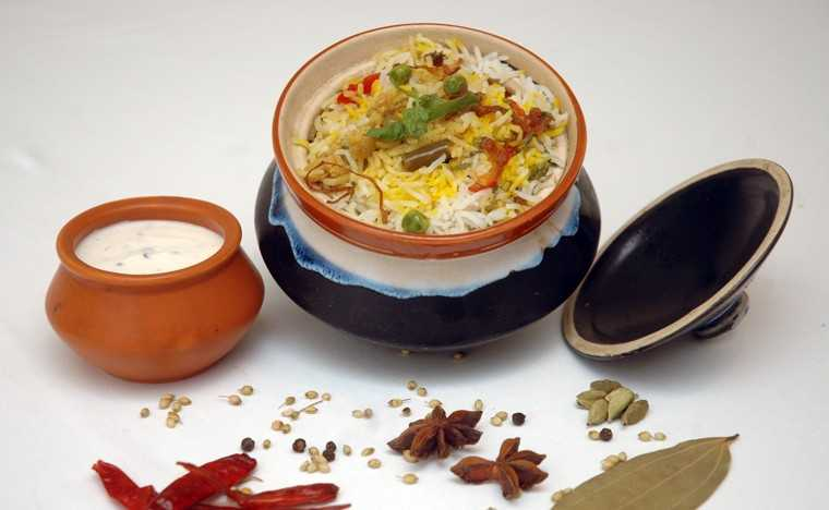 Zafrani gulnar vegetable biryani