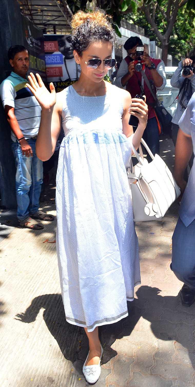 Kangana Ranaut summer dressing