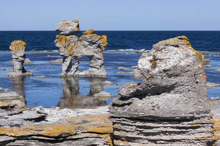 Gotland's Old Harbor on Faro,