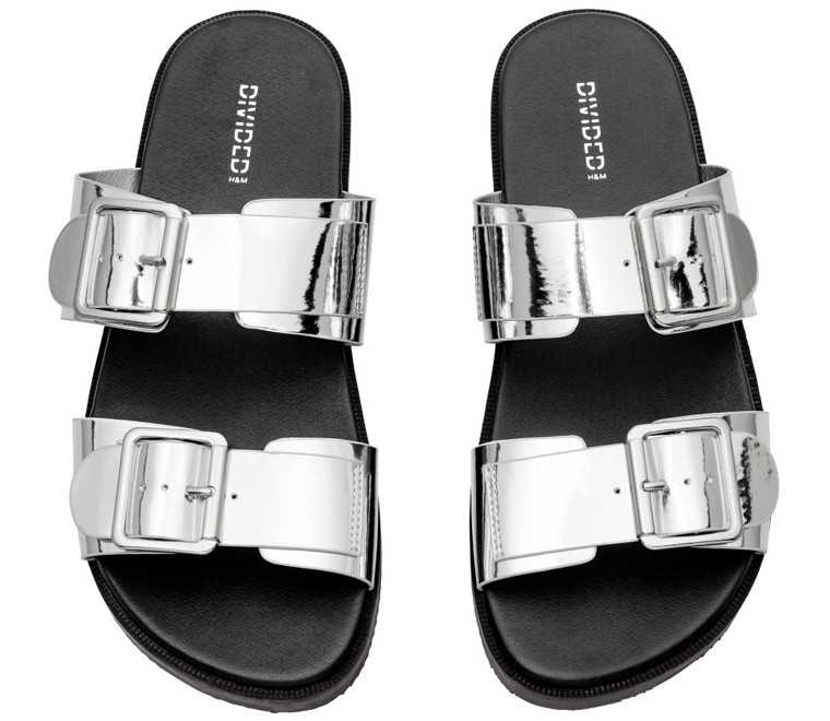 Polyester sandals