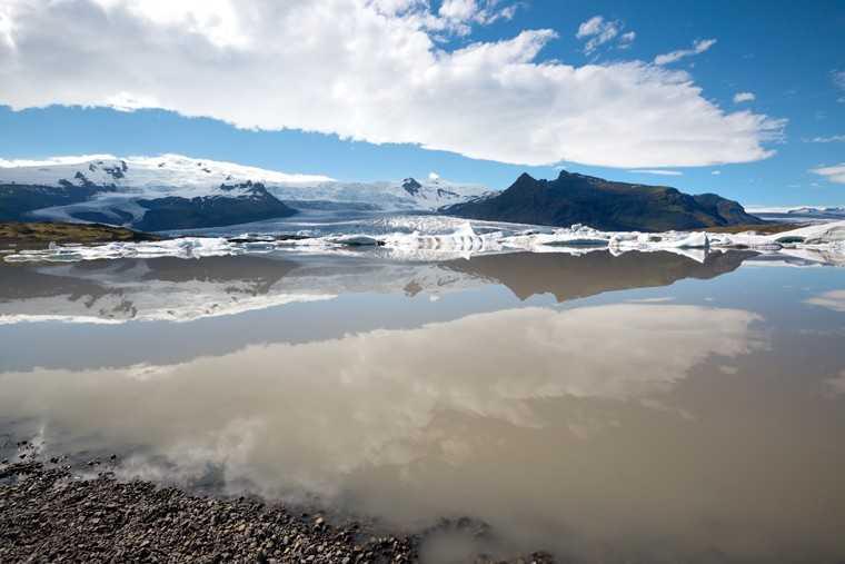 Iceland's glacier lake