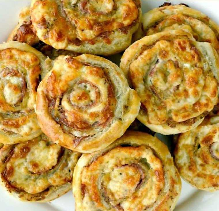Italian cheese pinwheel