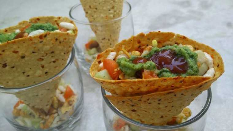Papad chaat