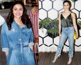 Alia Bhatt's denim wardrobe is every girl's dream