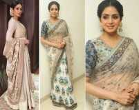 We can't get over Sridevi's style escapades