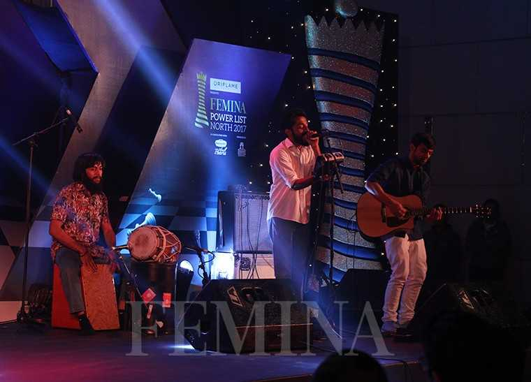 Playback, the Sufi fusion group, performs at the Femina Power List North 2017